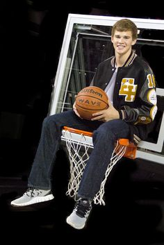 Athens senior photography. Senior Photo for a basketball player! by Claire Diana Photography