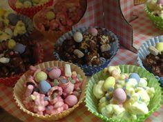 Oxfordshire Babysitting Agency: EASTER POPCORN CAKES