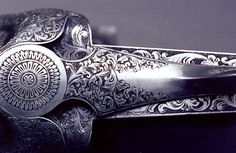 i have craving and you can taste it [feel free to talk, just be polite] Gun Art, Shooting Guns, Fire Powers, Metal Engraving, Cool Guns, Guns And Ammo, Sculpture, Shotgun, Firearms