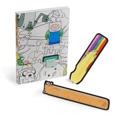 Adventure Time Coloring Journal