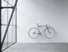 Bike Hook is bicycle storage reduced to a bare but beautiful minimum | CycleLove