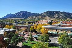 The University of Colorado Boulder. I worked there & went to classes.