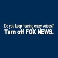 The crazy voices of Fox News.