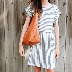Just got this dress! Love it! Madewell sales are the best!