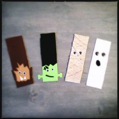 Monster Bookmarks   Spoonful