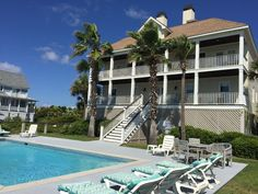 """Oceanfront Home with Pool, Incredible Views, and Private Beach Access!. Oceanfront/Private Pool """"A little slice of heaven!"""" is what you'll say when you sta..."""
