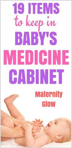 Baby medicine cabinet | Baby medicine kit | Baby medicine cabinet must haves