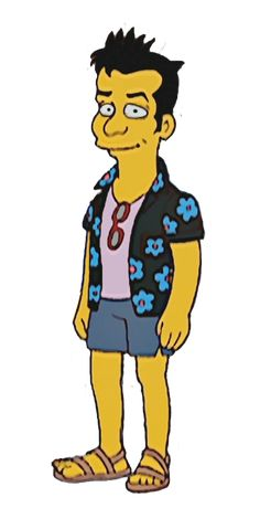 Julio Simpsons Characters, Simpsons Art, Fictional Characters, Bart Simpson, Posters, Board, Best Series, Poster, Fantasy Characters