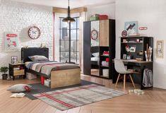 New York twijfelaar tiener bed slaapkamer tienerkamer, kinderbed ...