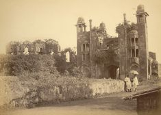 Lalbagh Fort, Dhaka (1857) : The mutiny also spread to Dacca, the former Mughal capital of Bengal. Residents in the city's Lalbagh area were kept awake at night by the rebellion