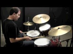 Jazz Drum Fill using Paradiddle-diddle sticking - JAZZ DRUM LESSON with John X