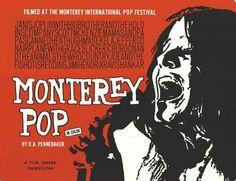 El Festival Internacional de Música Pop de Monterrey se llevó a cabo del 16 al 18 de junio de 1967. Más de 200.000 personas asistieron, y es a menudo considerado como el precursor del Festival de Woodstock de 1969.