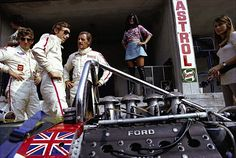 Photo of the Day: Lotus Boys; Hill, Rindt & Siffert Talk Business