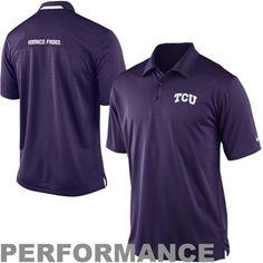 0a6872f7 Nike TCU Horned Frogs Performance 2013 Coaches Polo - Purple Oklahoma State  Football, College Football
