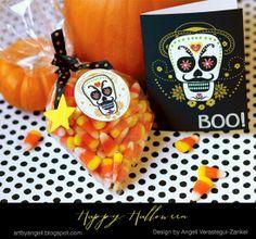 artbyangeli free Halloween printables!!