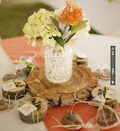 Like this - rustic centerpiece  |  tracy moore photography | CHECK OUT MORE IDEAS AT WEDDINGPINS.NET | #weddings #rustic #rusticwedding #rusticweddings #weddingplanning #coolideas #events #forweddings #vintage #romance #beauty #planners #weddingdecor #vintagewedding #eventplanners #weddingornaments #weddingcake #brides #grooms #weddinginvitations