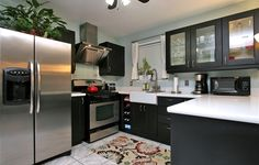 Our IKEA fan was so inspired by our IKEA catalog, they created a RAMSJÖ kitchen!