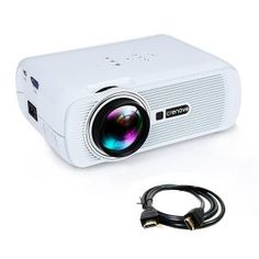 Shop for Crenova,mini Projector Full Color Home Video Projector, 130 Portable Led Pico Projector With Hdmi For Home Theater Support Hd Game Usb Sd Ipad Iphone Android Smartphone - White. Compare live & historic audio or video prices. Home Cinema Projector, Pico Projector, Best Projector, Movie Projector, Home Theater Projectors, Phone Projector, Portable Projector, Ipad, Home Theater Setup