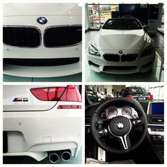 2013 BMW M6 Convertible! Alpine White and Black
