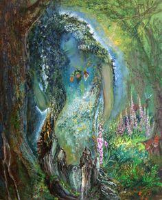 """Spirit of the Forest 2"" par Josephine Wall"