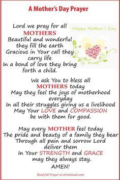 Happy Mother's Day  (thanks RIRI... beautiful).