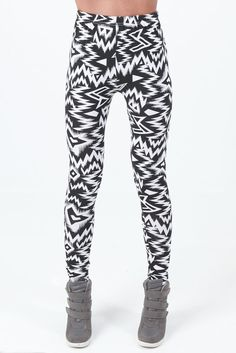 1ee89b0f1ae25 Amazon.com  Womens Ladies Zigzag Pattern Leggings Pants  Clothing