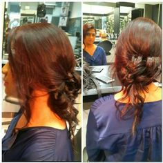#prom hair