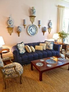 Aerin Lauder Southampton living room
