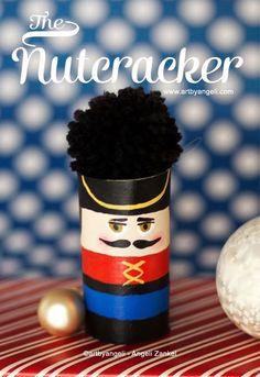 artbyangeli: DIY Christmas Nutcracker Ornament