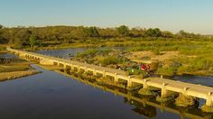 The bridge that joins Mjejane Game Reserve with the Kruger National Park