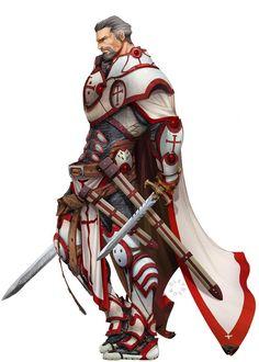 Human Knight dual wield