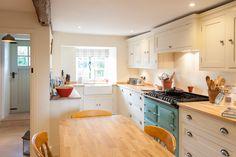 Jonathan Randall - Handmade Kitchen Company in Gloucestershire - #AGA #cotswold #kitchen #cottage