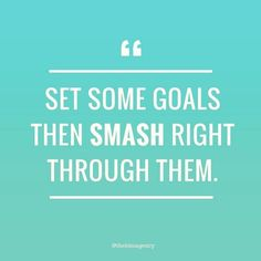 New Week = New Goals  #keepitsimple