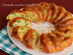 Ciambella zucchine philadelphia ricetta salata il mio saper fare