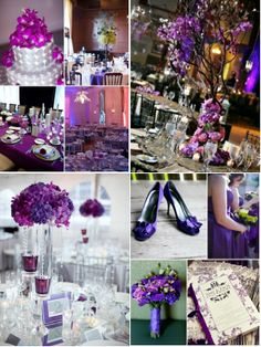 Wedding Colors - Purple