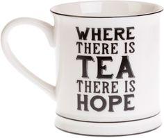 Mugg Where There Is Tea - Sass & Belle - RumAttÄlska.se