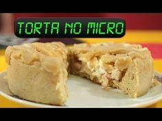 Como fazer Torta de Frango no microondas - YouTube