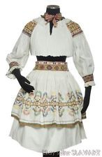 All of the pieces are heavily embroidered with traditional motifs characteristic of this region. Old matching wool ties on the blouse collar and apron. Suitable for wear or display. I provide many photos so that you can see exactly what you are buying. Folk Costume, Costumes, Pleated Skirt, Lace Skirt, Folk Clothing, Wool Tie, Collar Blouse, Embroidered Blouse, Embroidery Designs