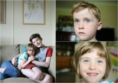 honest natural family portrait photography in Cambridge