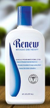 What can I say about Melaleuca's Renew cream?  How about it SAVED MY MOTHER's LIFE 3 years ago when she was diagnosed with Stage 3 cancer...How did it help?  She was on extreme doses of chemo pills and the side effects on the skin were hideous: rashes, sores, split and raw skin...my mom kept using the renew throughout her entire treatments. Guess what?  Because of Renew's continued commitment to soft and healthy skin, my mom only had a small patch of rash on the top of her baby finger!!!!!!
