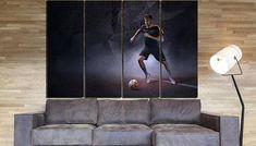 Neymar-Neymar canvas-Neymar print-Football player-Modern