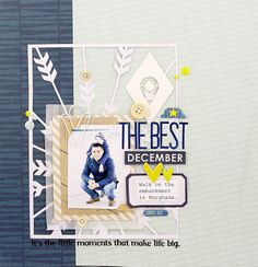 #papercraft #scrapbook #layout  Layout about my men) by alkobz at @Studio_Calico