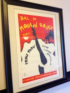 Moulin Rouge Print - The Inspiration