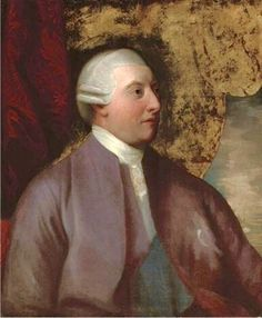 H.M. King George III, in a portrait attributed to Benjamin West, c. 1780.