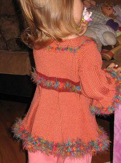 Free Pattern: Experimental Sweater by Elena Nodel
