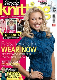 Ravelry: Simply Knitting 112, October 2013