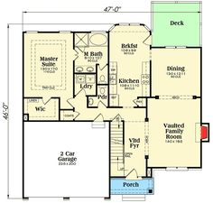 Plan 75455GB: Craftsman With Optional Bonus Room