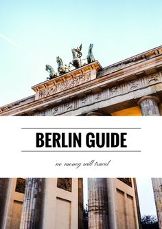 Berlin: a one-stop budget guide