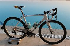 Exclusive: First images of #Kwiatkowski's 2015 #Specialized #SWorks #Tarmac - Michal Kwiatkowski's Specialized S-Works Tarmac for 2015