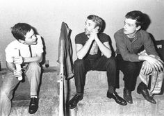 Bernard Sumner, Peter Hook and Ian Curtis. Joy Division in Paris, France, 18 Dec 1979 Ian Curtis, Natalie Curtis, Joy Division, Rock Roll, Man Icon, Unknown Pleasures, 80s Music, Post Punk, Cool Bands
